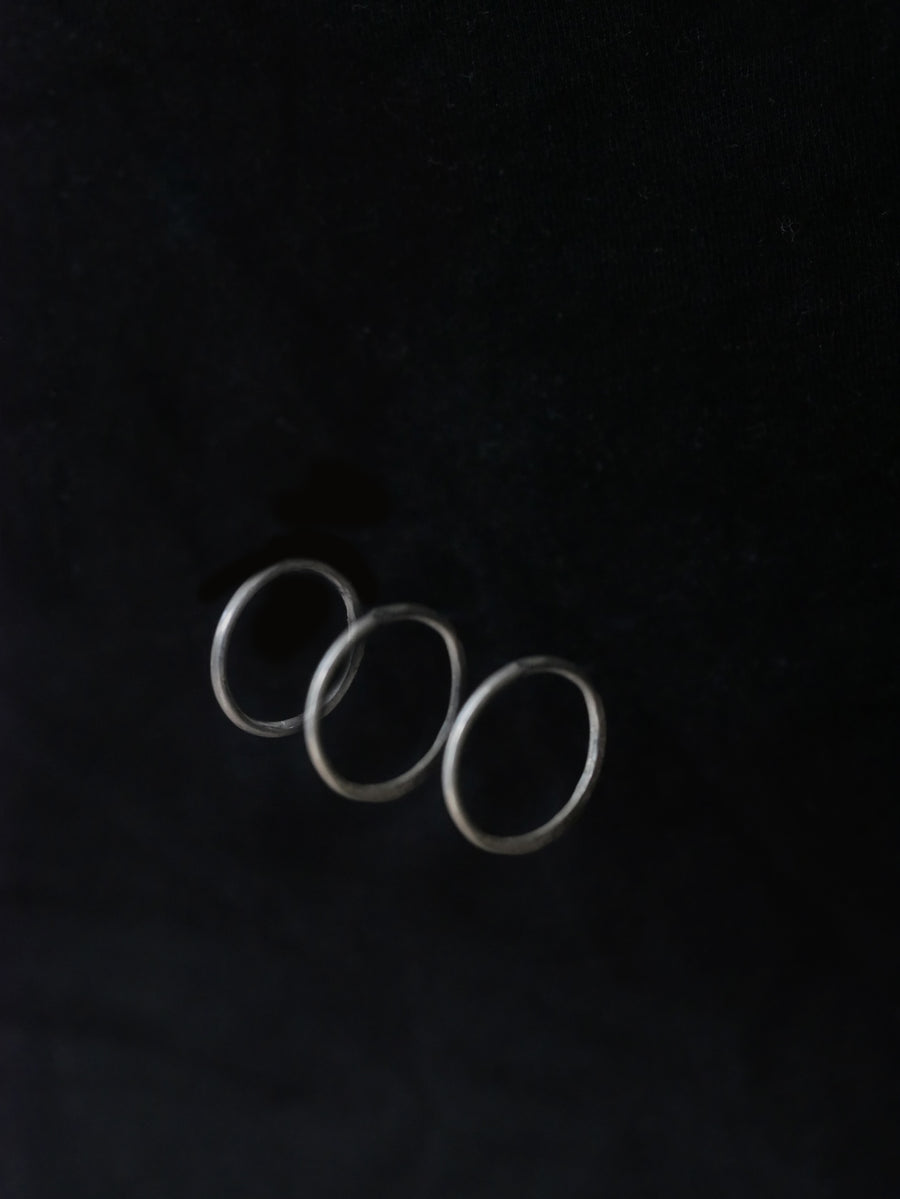 Maddy Rowley Jewellery Dimple Rings - set of 3