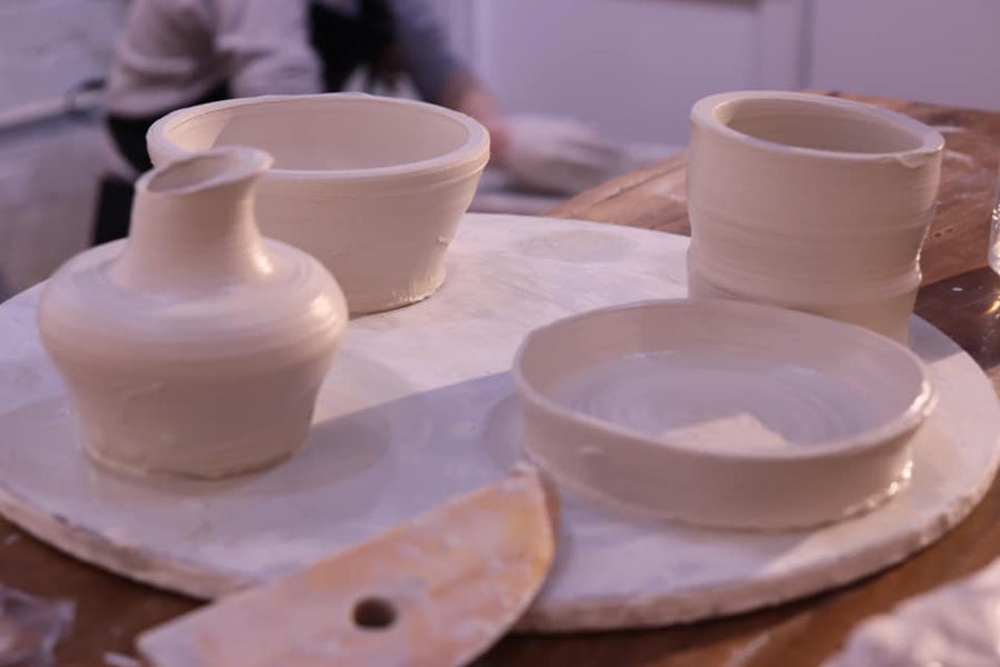 LEARN WHEEL THROWN POTTERY FOR TWO with Potter Panks (1 SESSION/2 STUDENTS)