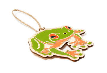 Outer Island Red-Eyed Tree Frog Ornament
