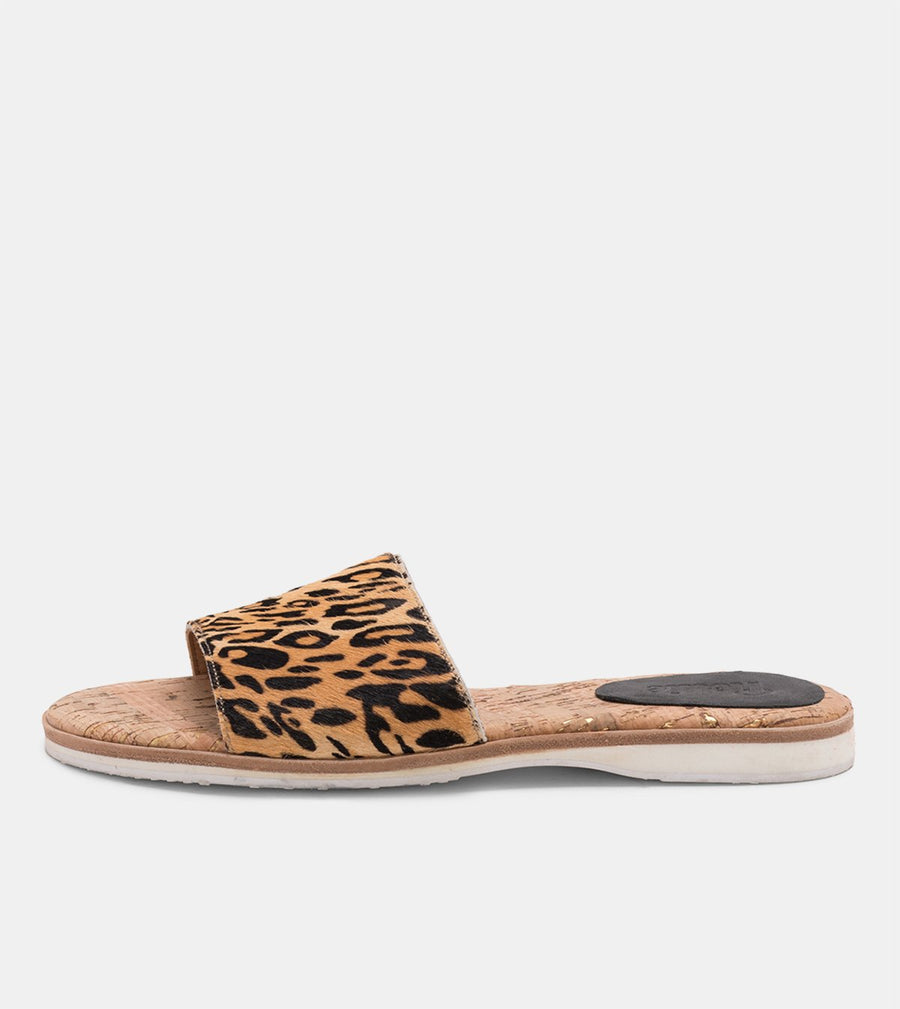 Rollie Nation Shoes Sandal Slide Leopard