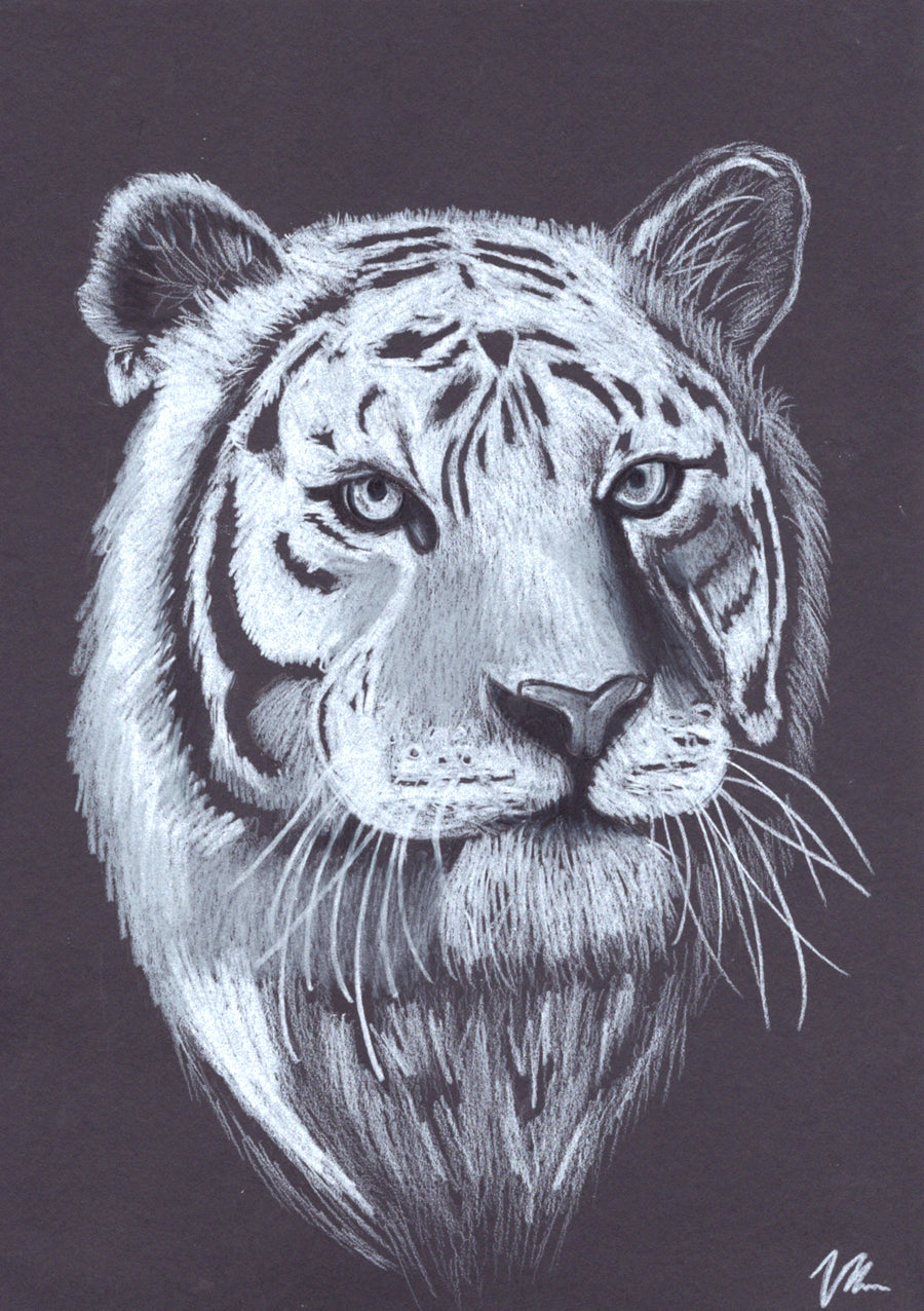 Vilarte - Tiger Original Artwork