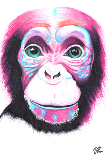 Vilarte - Monkey Original Artwork