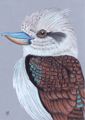 Vilarte - Kookaburra Original Artwork