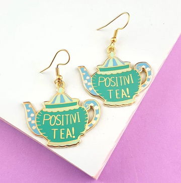 JUBLY UMPH POSITIVI-TEA EARRINGS