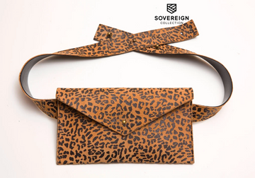 Sovereign Collection Leopard Belt Bag
