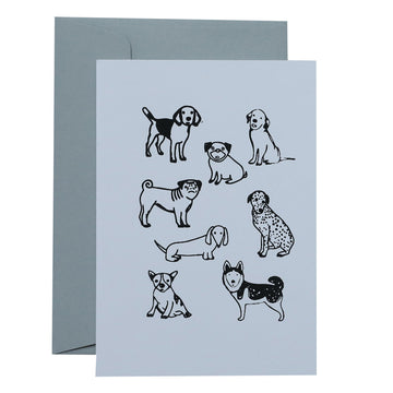 Me & Amber Greeting Card - Dogs