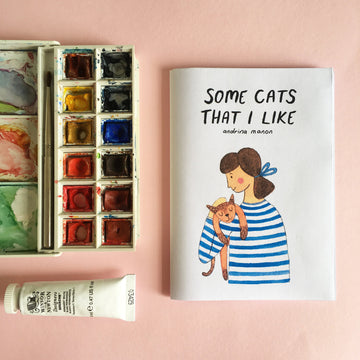 Andrina Manon 'Some Cats That I Like' A6 Zine