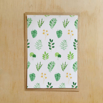 Andrina Manon Greeting Card 'Fern Pattern'