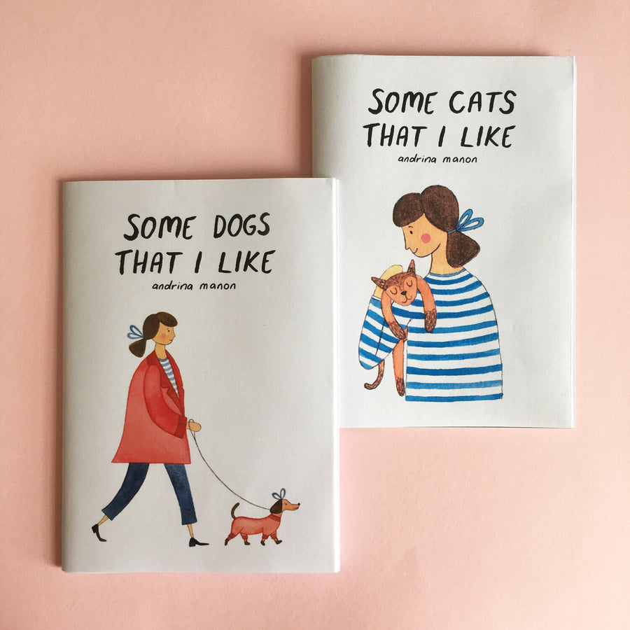 Andrina Manon 'Some Dogs That I Like' A6 Zine