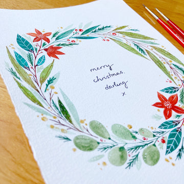 Christmas Watercolour & Illustration Workshop