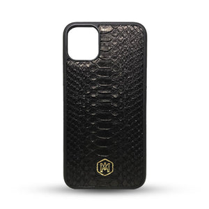 Iphone 11 Cover in Python Leather
