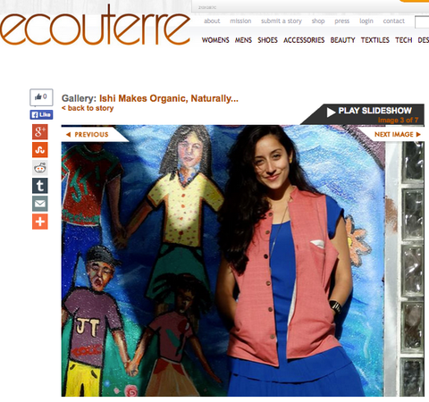 ishi cofounder jackie featured in Ecouterre