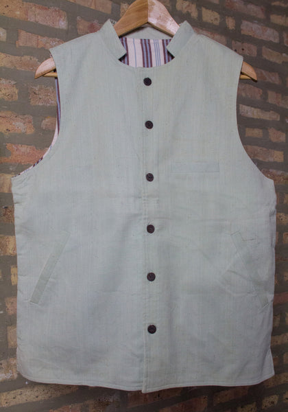 "original ishi vest in ""sea green"" -- $25 off! (Final Sale - Small only)"