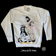 Load image into Gallery viewer, Hand painted 1 of 1 sweater featuring original artwork