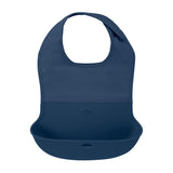 OXO Tot Roll-Up Bib - Navy