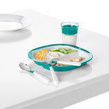 OXO Tot Cutlery Set for Big Kids - Teal (1)