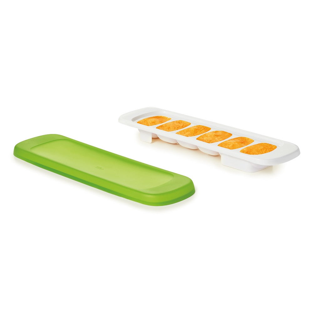 OXO Tot Baby Food Freezer Tray With Silicone Lid - Green (3)