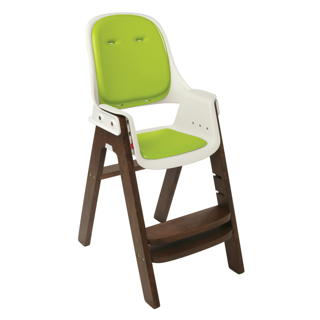OXO Tot Sprout High Chair - Green/Walnut (7)