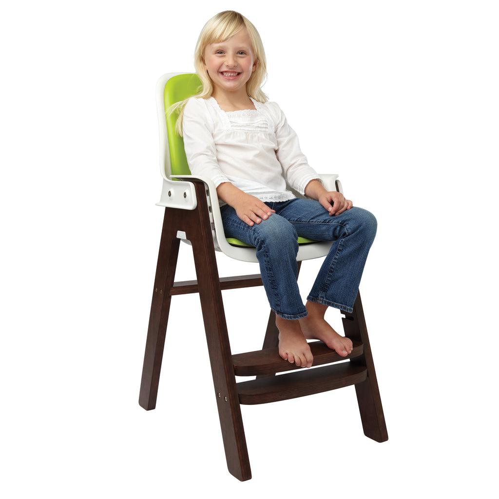 OXO Tot Sprout High Chair - Green/Walnut (8)