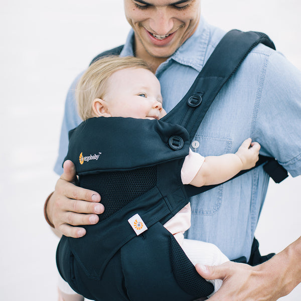 Ergobaby 360 Cool Air Mesh Baby Carrier - Onyx Black (1)