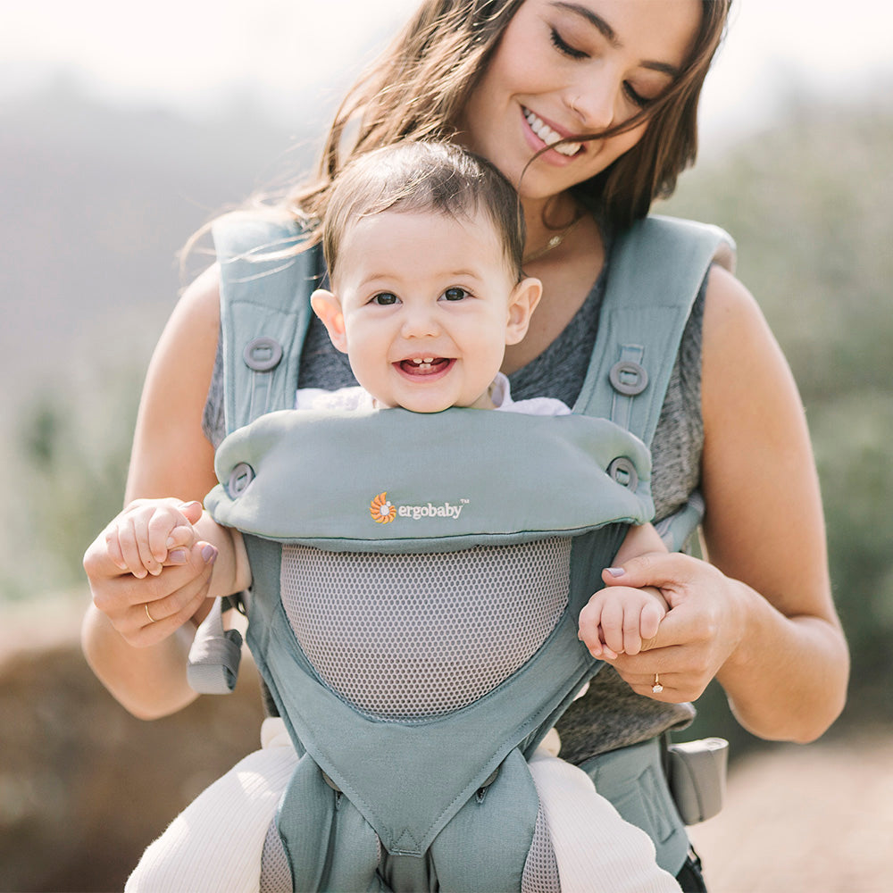 Ergobaby 360 Cool Air Mesh Baby Carrier - Sea Mist (3)