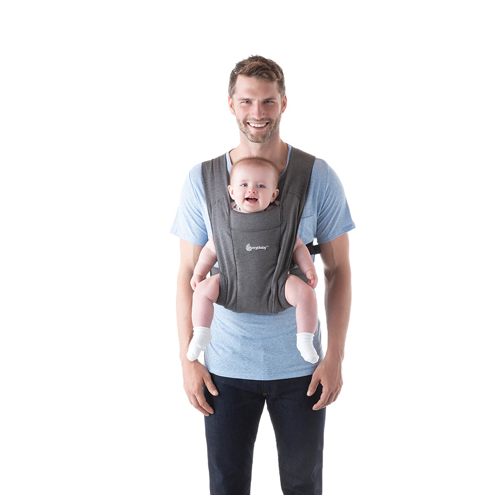 Ergobaby Embrace Bbay Carrier - Heather Grey