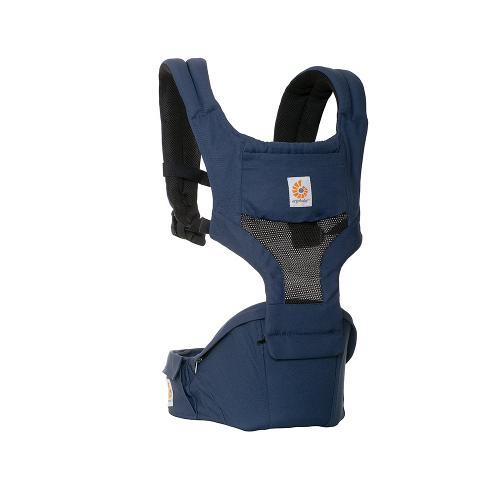 Ergobaby HipSeat Cool Air Mesh Baby Carrier - Raven