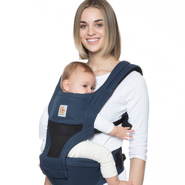 Ergobaby HipSeat Cool Air Mesh Baby Carrier - Raven (2)