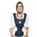Ergobaby HipSeat Cool Air Mesh Baby Carrier - Raven (3)