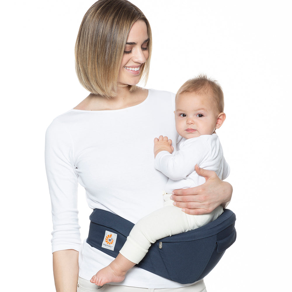 Ergobaby HipSeat Cool Air Mesh Baby Carrier - Raven (4)