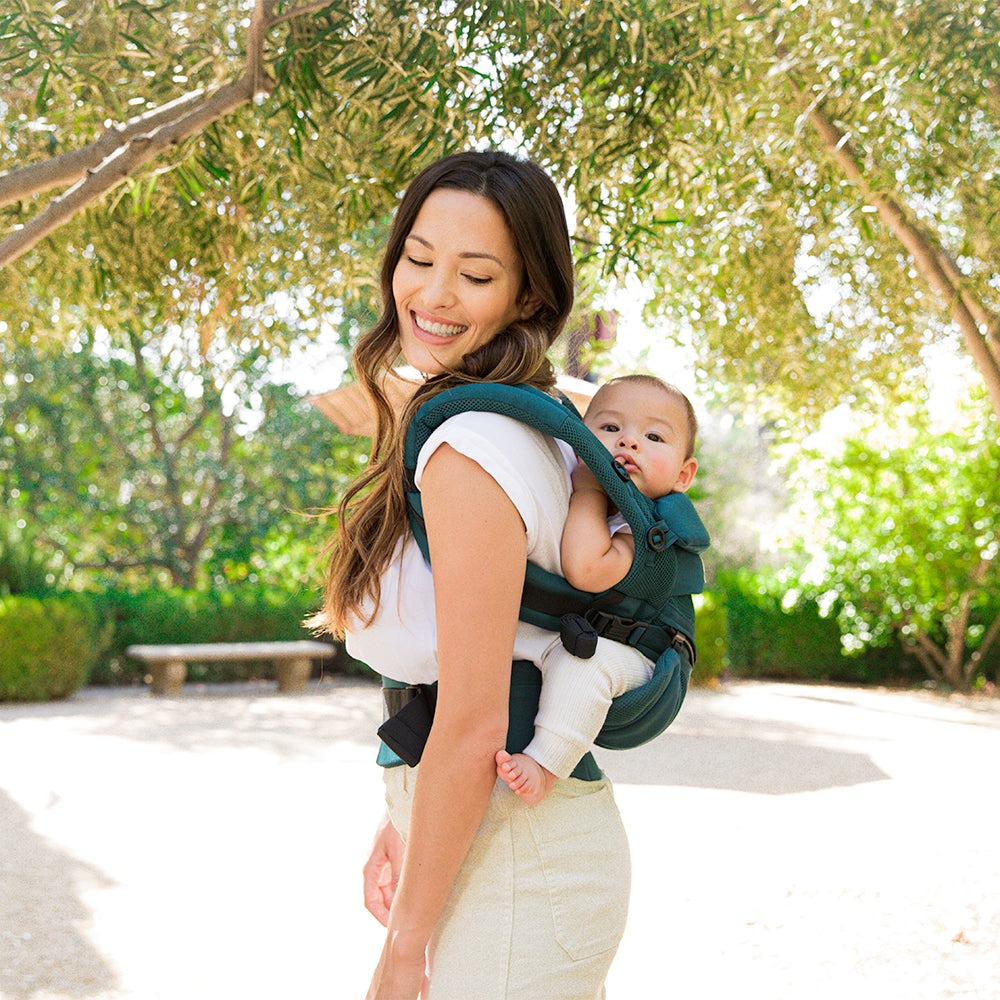 Ergobaby Omni 360 Cool Air Mesh Baby Carrier - Evergreen (4)