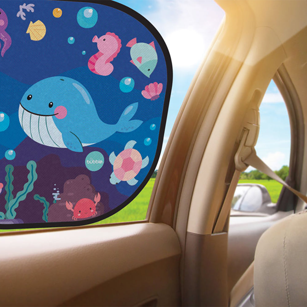 Bubble Cling Sunshade - Under the Sea (2pcs) (1)