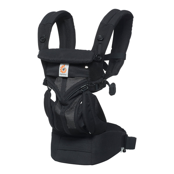 Ergobaby Omni 360 Cool Air Mesh Baby Carrier - Onyx Black (1)