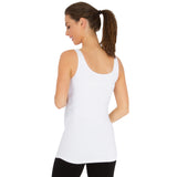 Belly Bandit B.D.A Maternity Tank - White-S