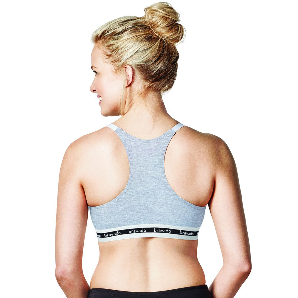 Bravado Original Nursing Bra - Dove Heather L (1)