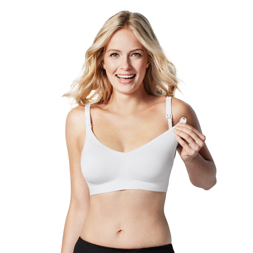 Bravado Body Silk Seamless Nursing Bra - White M (1)