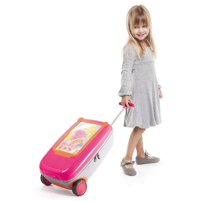 Benbat GoVinci Trolley - Pink/Orange (1)