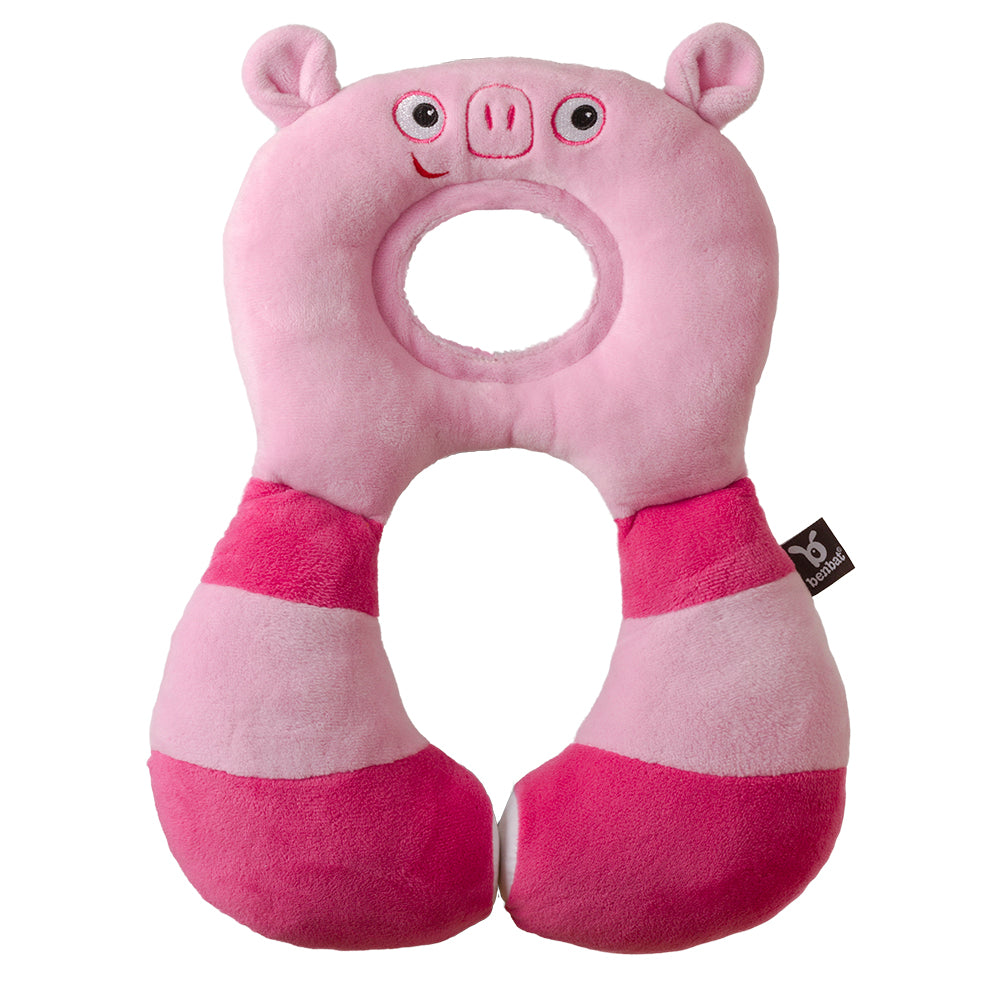 Benbat Travel Friends Total Support Headrest 1-4yrs - Pig