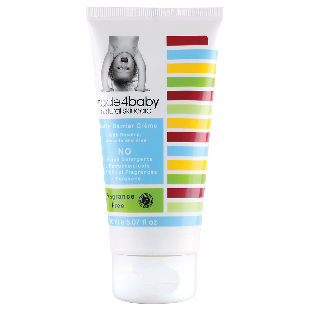 Made4Baby Botty Barrier / Nappy Rash Cream (Fragrance Free)