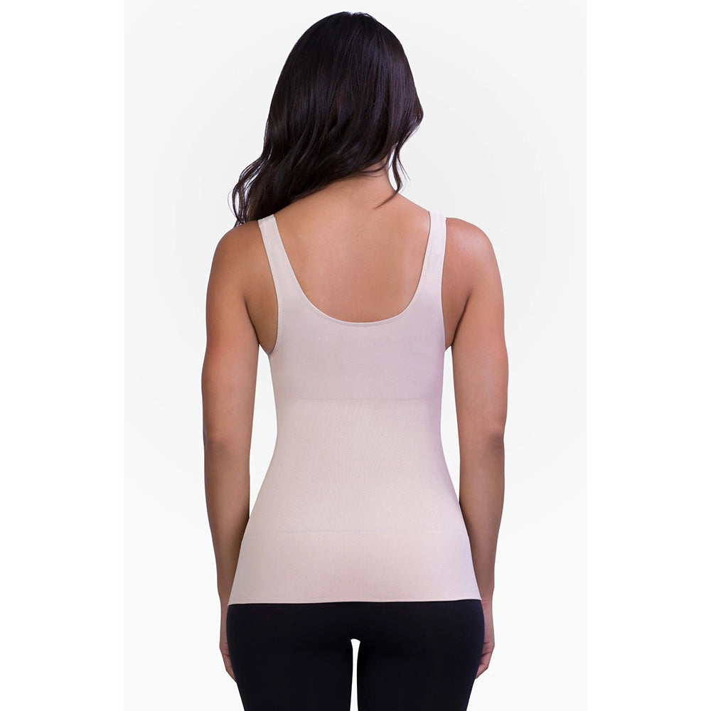 Belly Bandit Mother Tucker Scoop Neck Compression Tank - Nude-L