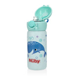 Nuby Stainless Steel Sport Bottle - Blue