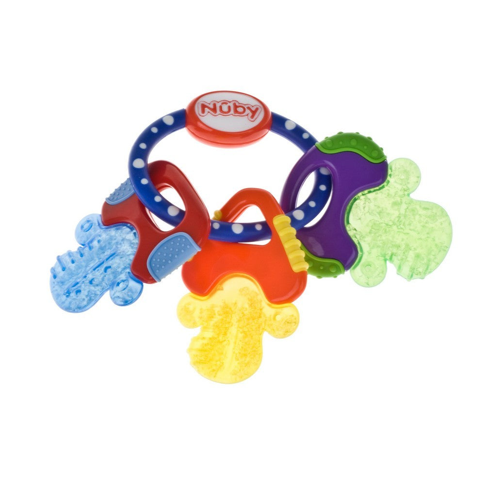 Nuby Icybite Keys Teether (1)