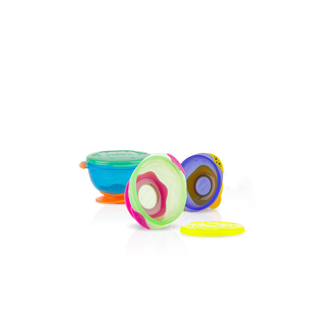 Nuby Stackable Suction Bowl (1)