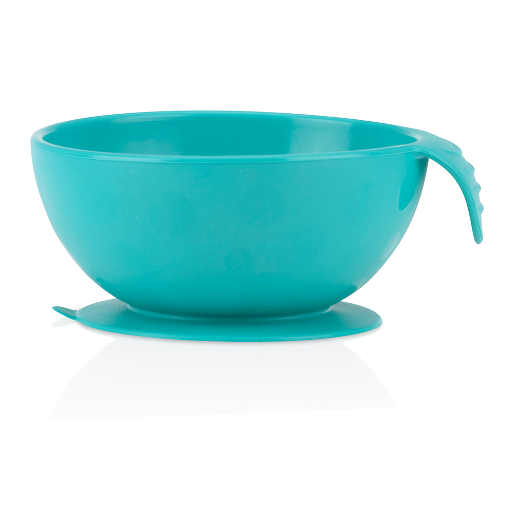 Nuby Sure Grip Silicone Suction Bowl - Aqua