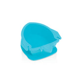 Nuby Sure Grip Rocket Bowl - Blue