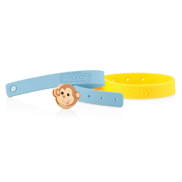 Nuby All Natural Mosquito Repellent Bracelets - Monkey