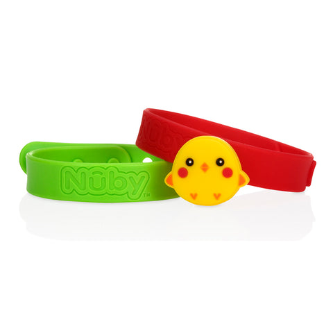 Nuby All Natural Mosquito Repellent Bracelets - Chicken