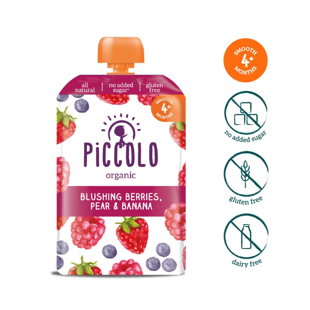 Piccolo Organic Blushing Berries, Pear & Banana (2)