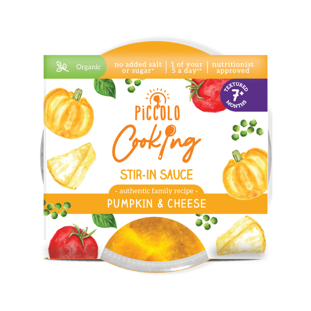 Piccolo Cooking Stir-in Sauce Pumpkin & Cheese