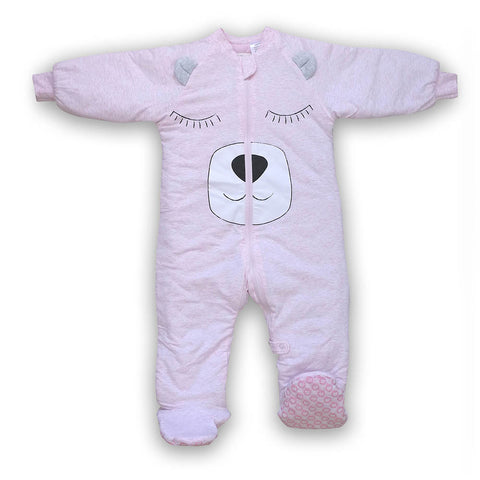 Plum Walker 3.0 Tog 3-4 yrs - Pink Bear